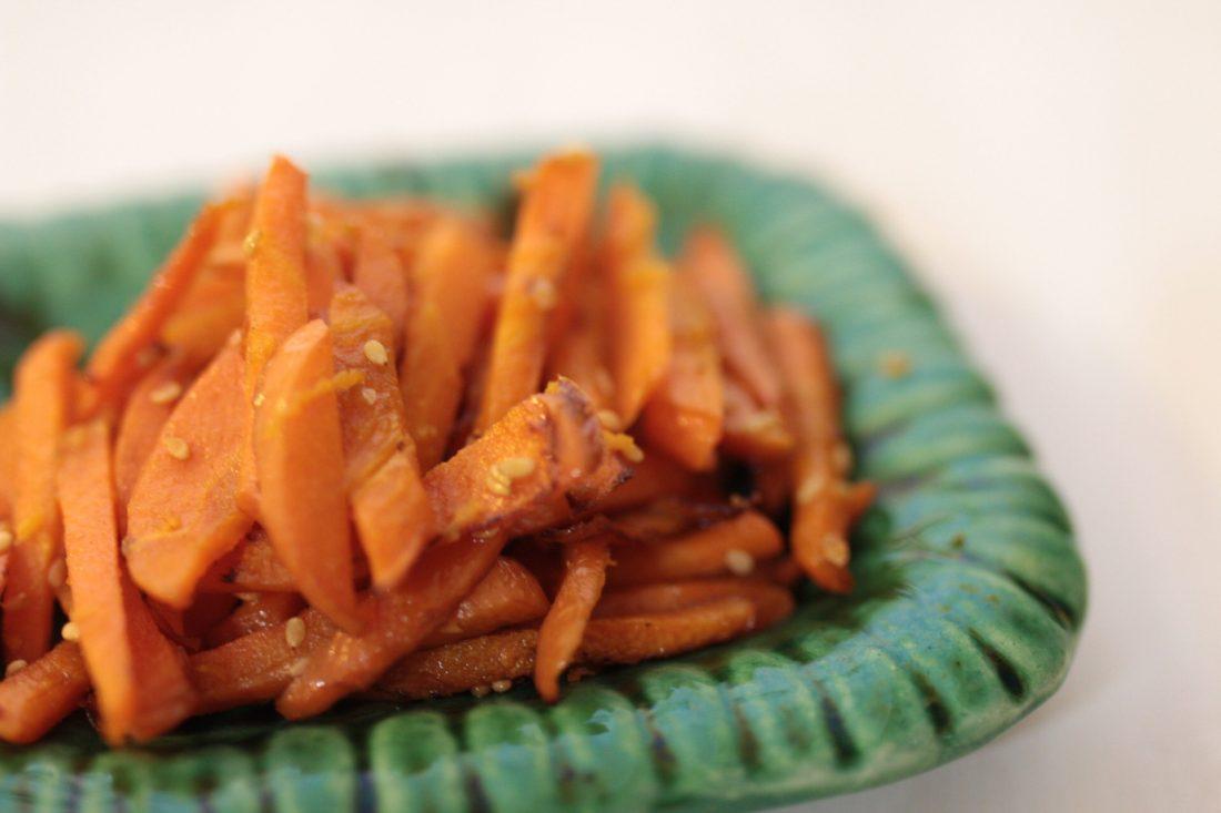 Kimpira cenoura