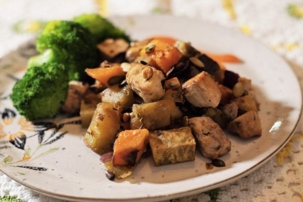 Assado Tofu Horizontal